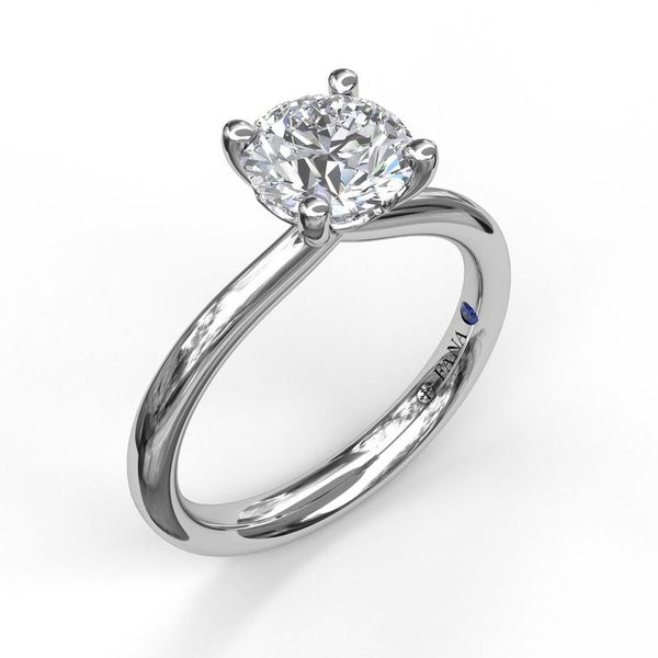 Solitaire Engagement Ring Mounting Champaign Jewelers Champaign, IL