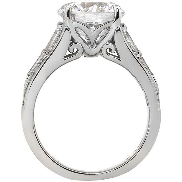 Large Engagement Ring Mounting Image 3 Champaign Jewelers Champaign, IL