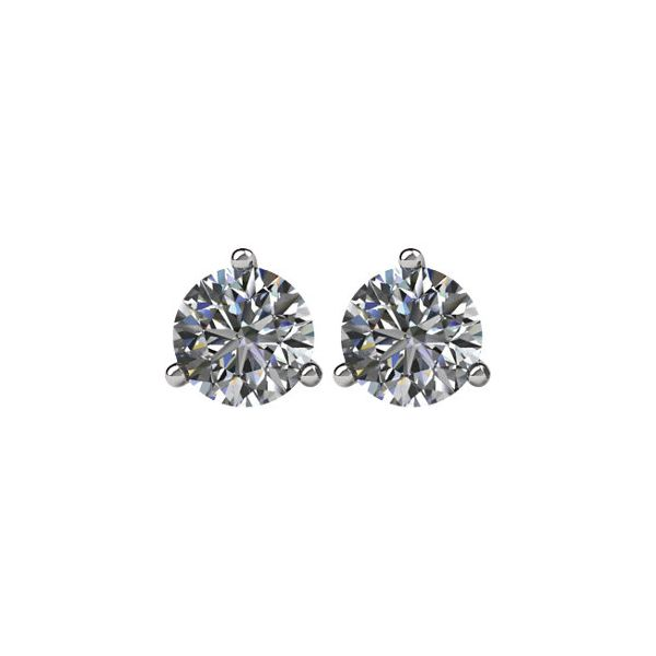 14K 0.25tw Diamond Martini Stud Earrings Champaign Jewelers Champaign, IL
