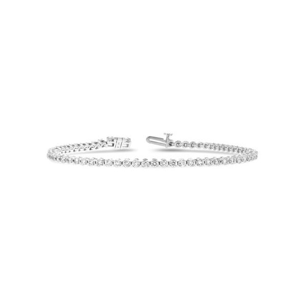 14 Karat White Gold 2.00ct Diamond Tennis Bracelet Champaign Jewelers Champaign, IL