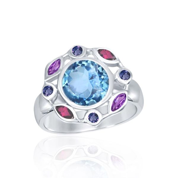 Sterling Silver Colorful Gemstone Fashion Ring Champaign Jewelers Champaign, IL