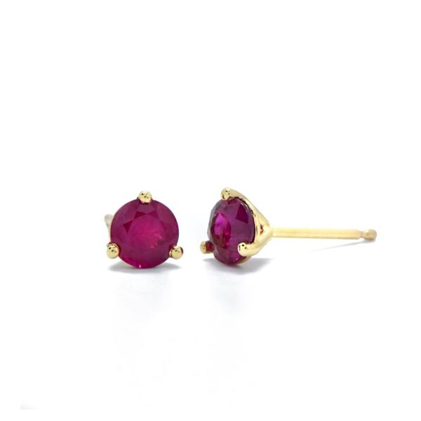 Ruby Stud Earrings Champaign Jewelers Champaign, IL