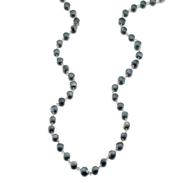 Ela Rae Diana Black Spinel Necklace Champaign Jewelers Champaign, IL
