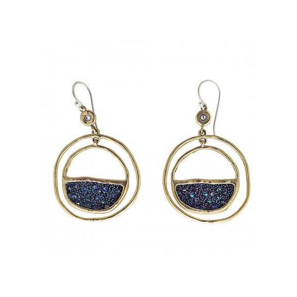 Waxing Poetic Space Earrings Champaign Jewelers Champaign, IL