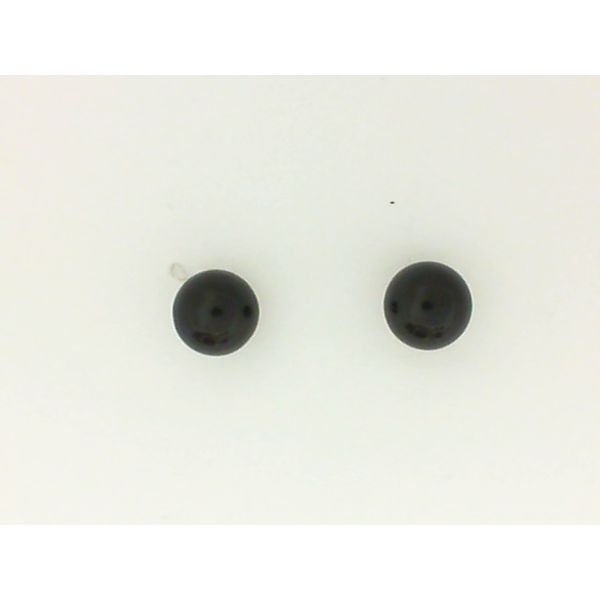 14KY Onyx Stud Earrings 6mm Chipper's Jewelry Bonney Lake, WA