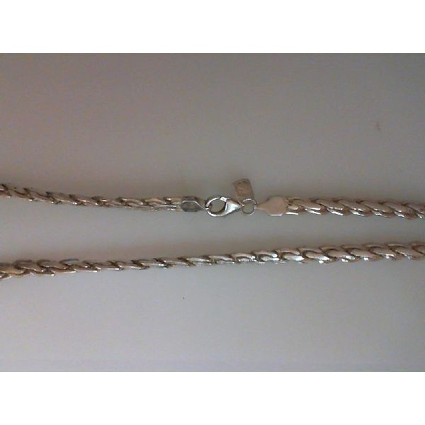 silver chain necklaces with or without pendants Chipper's Jewelry Bonney Lake, WA