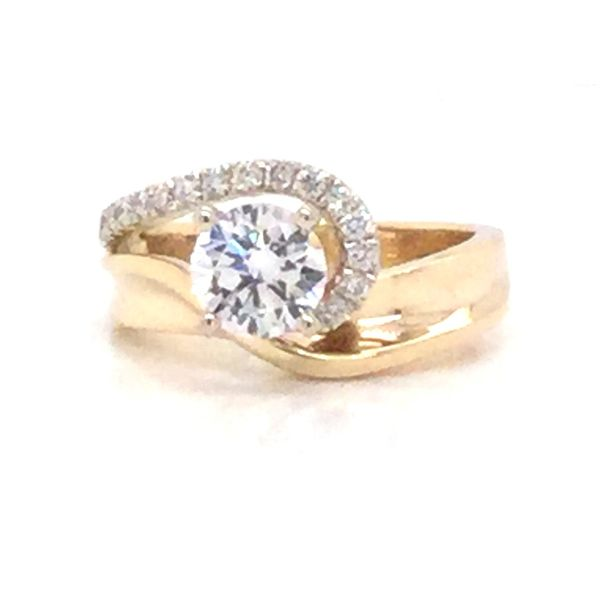 Diamond Semi-Mount Ring Christopher's Fine Jewelry Pawleys Island, SC