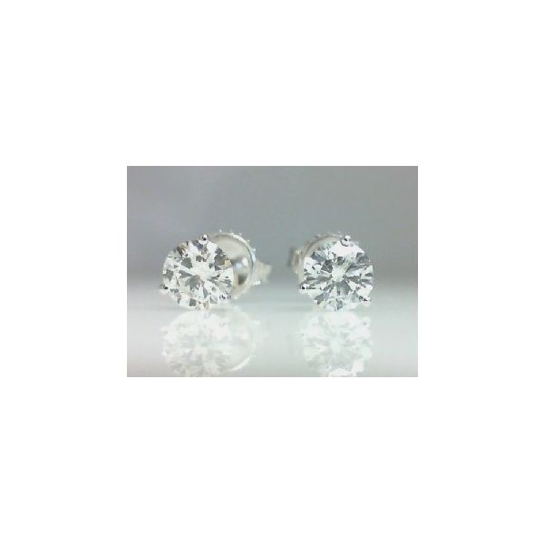 Diamond Stud Earrings Christopher's Fine Jewelry Pawleys Island, SC