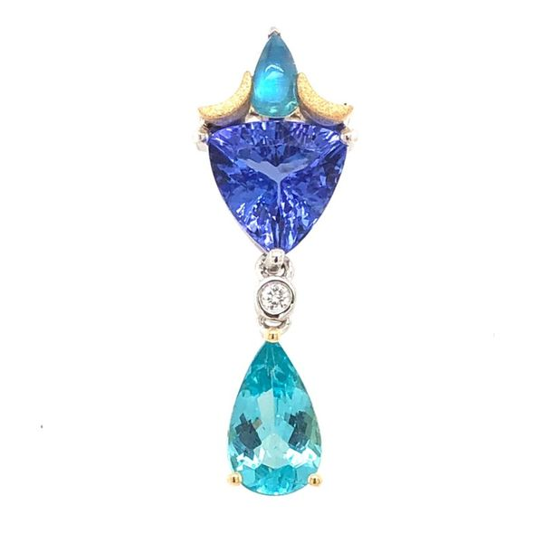 Denny Wong Colored Stone Pendant Christopher's Fine Jewelry Pawleys Island, SC