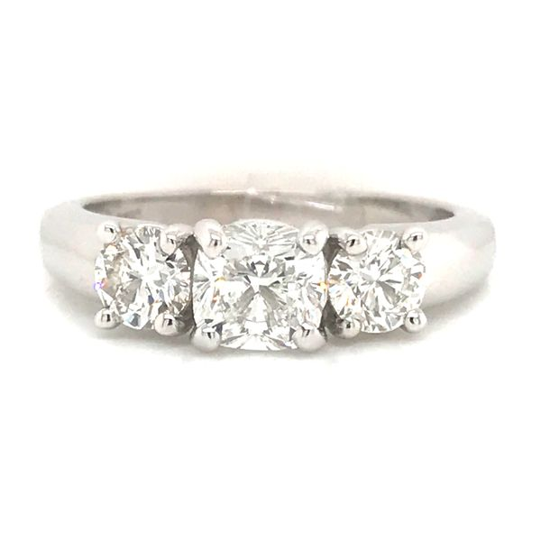 14K WG Ladies 1.30ct TW