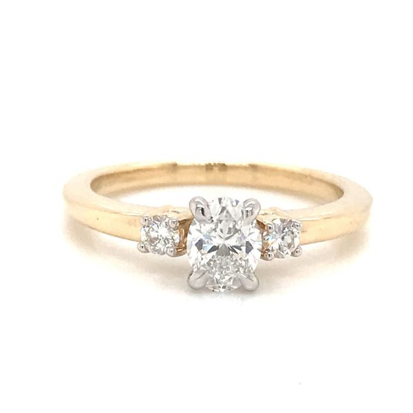 'Next Generation' 14K YG Oval Diamond Engagement Ring 0.61ct TW Skaneateles Jewelry Skaneateles, NY