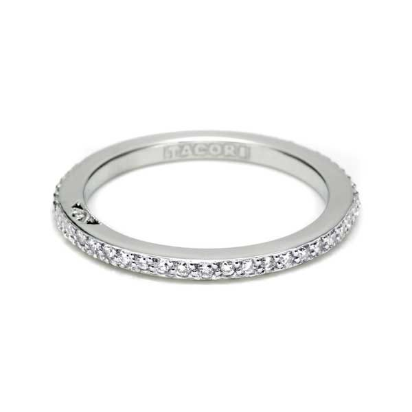 18K WG Ladies 0.35ct TW Tacori Dantela Collection Diamond Eternity Band Skaneateles Jewelry Skaneateles, NY
