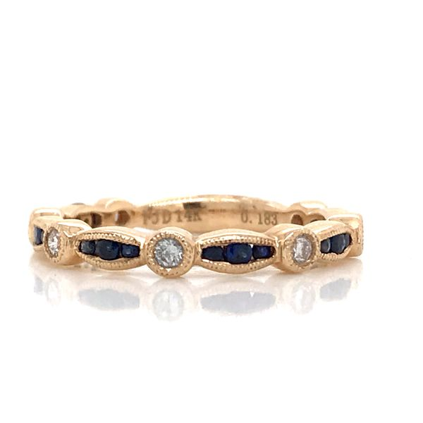 14K YG Ladies 0.43ct TGW