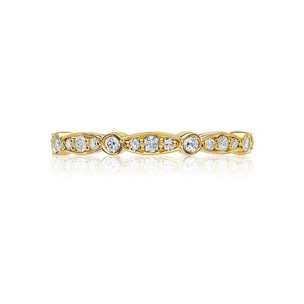 18K YG Ladies 0.43ct TW Tacori Sculpted Crescent Diamond Marquise Eternity Ring Skaneateles Jewelry Skaneateles, NY