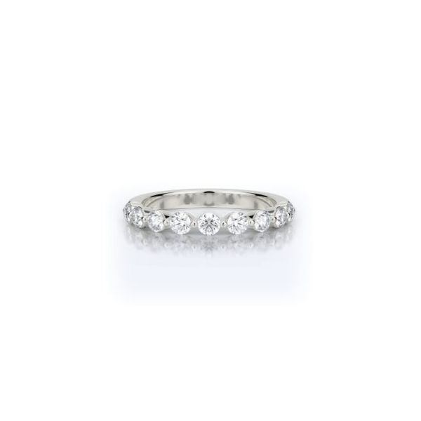 14K WG Ladies 0.70ct TW Diamond Henri Daussi Wedding Ring Skaneateles Jewelry Skaneateles, NY