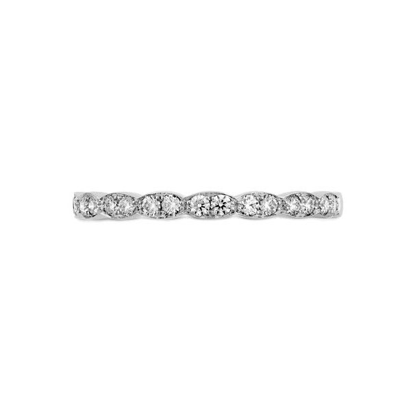 18K WG Ladies 0.22ct TW Hearts on Fire Lorelei Floral Diamond Wedding Ring Skaneateles Jewelry Skaneateles, NY