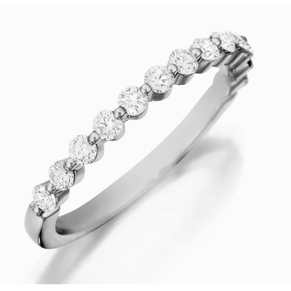 14K WG Ladies 0.50ct TW Diamond Henri Daussi Wedding Ring Skaneateles Jewelry Skaneateles, NY