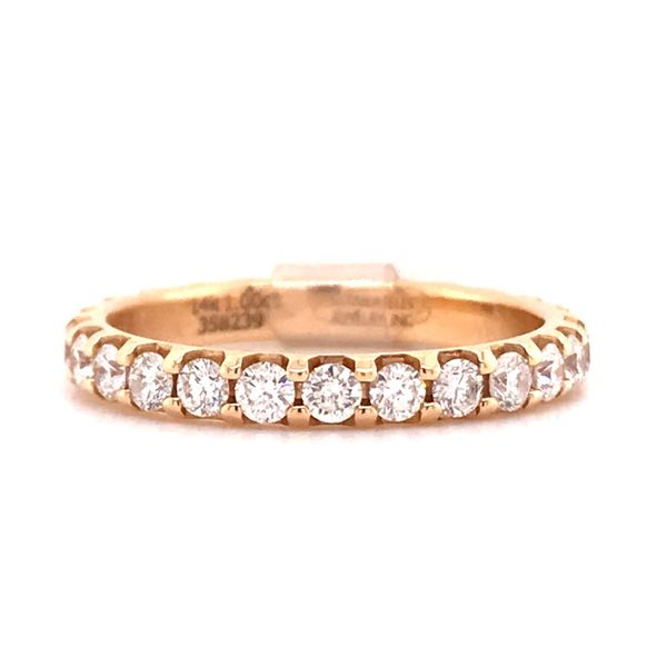 14K YG Ladies 1.00ct TW