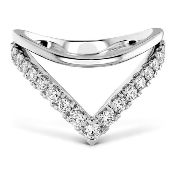 18K WG Ladies 0.51ct TW Hayley Paige Hearts On Fire Harley Silhouette Power Band Skaneateles Jewelry Skaneateles, NY