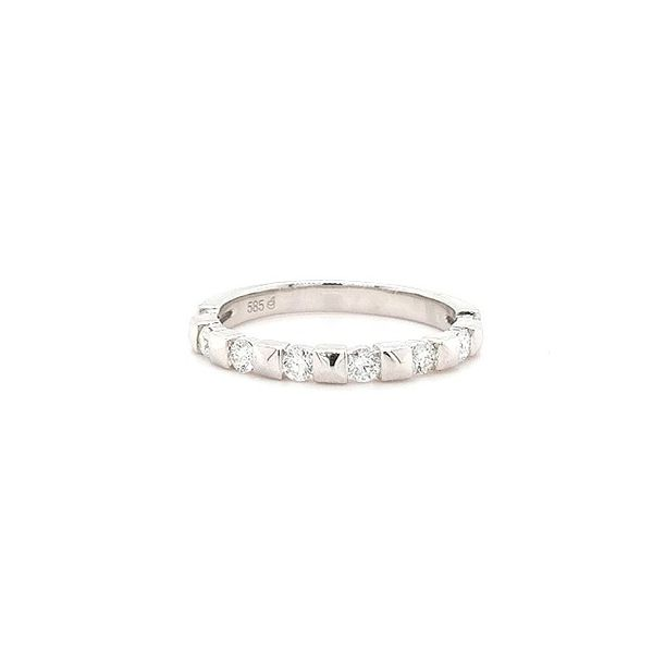 14K WG Ladies 0.42ct TW