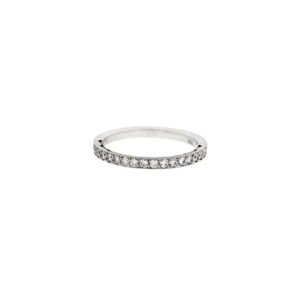 Platinum Ladies 0.33ct TW Tacori Sculpted Crescent Collection Diamond Anniversary Ring Skaneateles Jewelry Skaneateles, NY