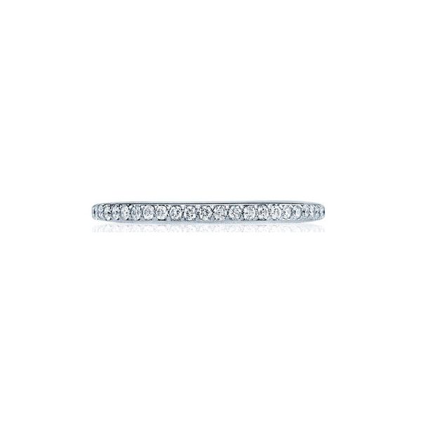 Platinum Ladies 0.43ct TW Tacori Dantela Collection Diamond Eternity Full Anniversary Band Skaneateles Jewelry Skaneateles, NY