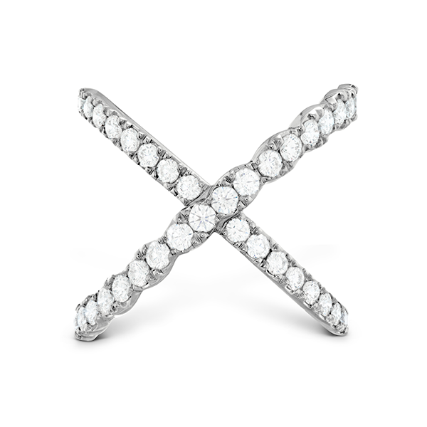 Hearts On Fire Diamond Lorelei Criss Cross Ring Skaneateles Jewelry Skaneateles, NY