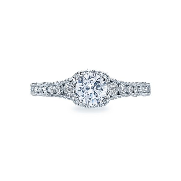 Tacori Graduated Pave Diamond Engagement Ring Skaneateles Jewelry Skaneateles, NY