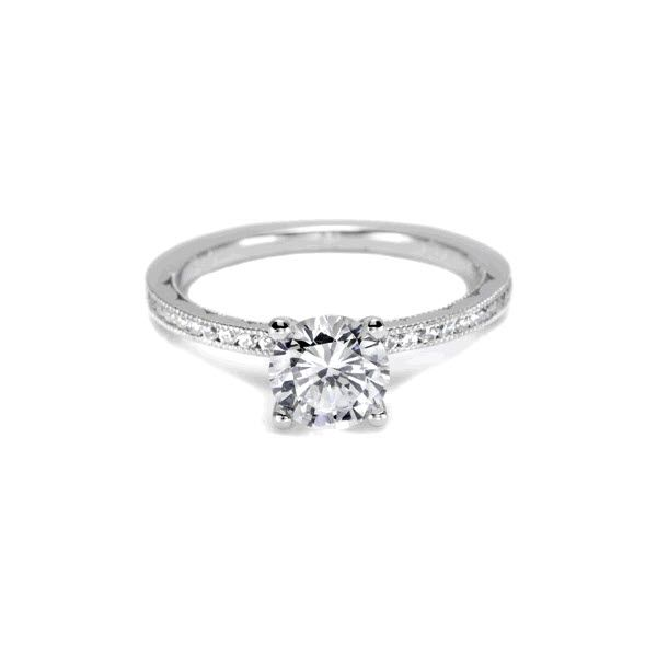 Tacori Sculpted Crescent Diamond Engagement Ring Skaneateles Jewelry Skaneateles, NY