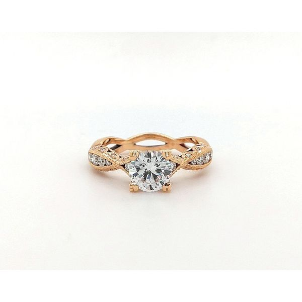 Tacori Pretty in Pink Classic Crescent Engagement Ring Skaneateles Jewelry Skaneateles, NY