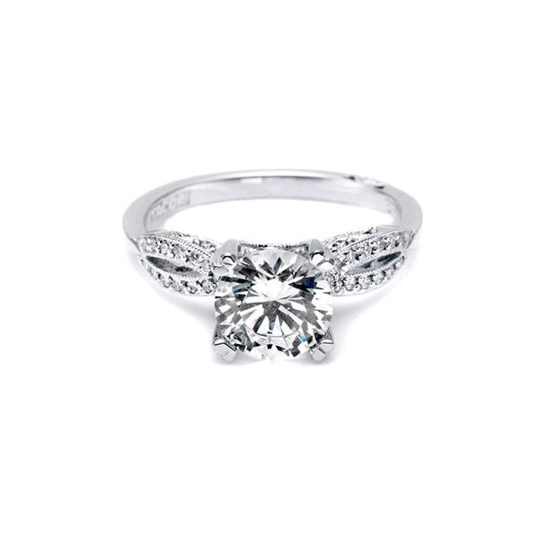 Tacori Open Marquise Pattern Engagement Ring Skaneateles Jewelry Skaneateles, NY
