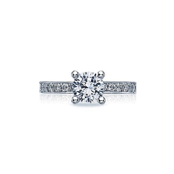 Tacori Sculpted Crescent Channel Engagement Ring Skaneateles Jewelry Skaneateles, NY