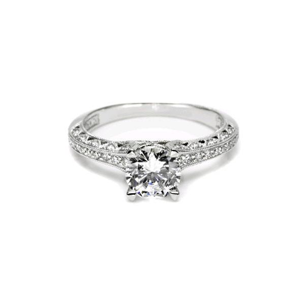 Tacori Classic Crescent Graduated Engagement Ring Skaneateles Jewelry Skaneateles, NY