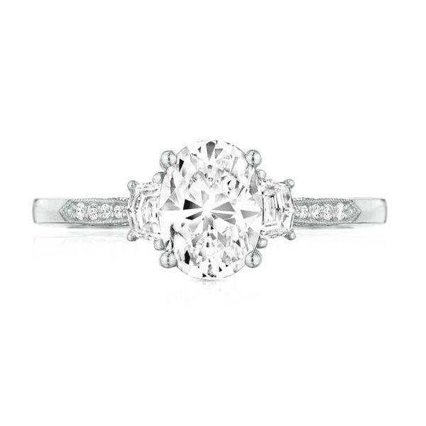Simply Tacori Cadillac Diamond Accent Engagement Ring Skaneateles Jewelry Skaneateles, NY