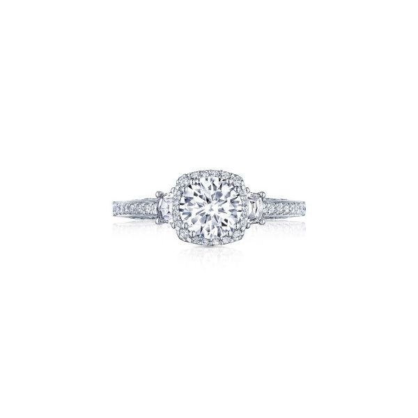 Tacori Dantela Cadillac Diamond Accent Engagement Ring Skaneateles Jewelry Skaneateles, NY