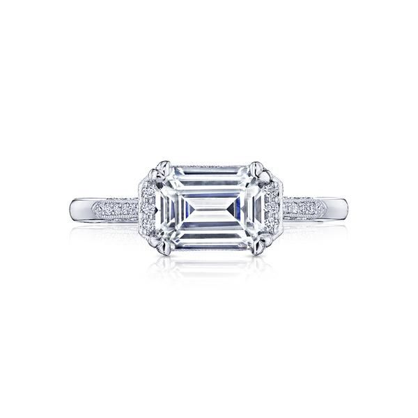 Tacori East-West Set Emerald Cut Engagement Ring Skaneateles Jewelry Skaneateles, NY