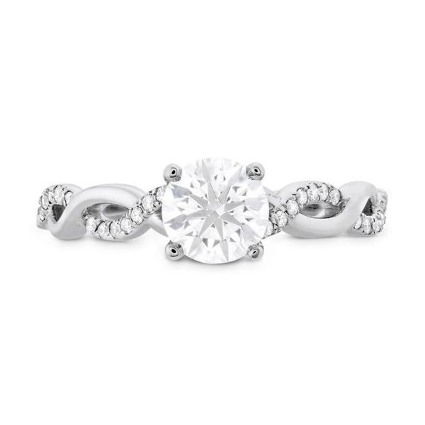 18K WG Ladies 0.26ct TW Hearts on Fire