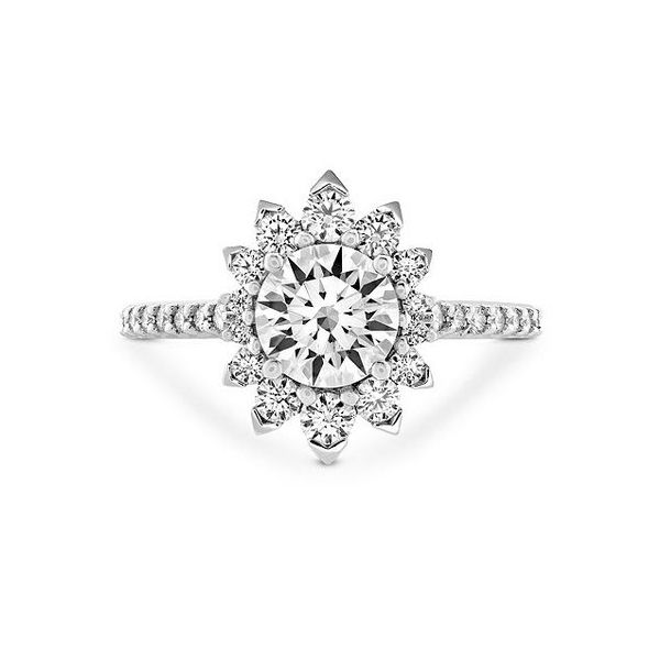 Hearts on Fire Hayley Paige Behati Crown Engagement Ring Skaneateles Jewelry Skaneateles, NY