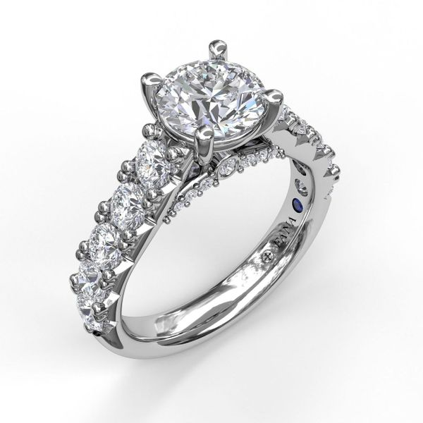 Next Generation Large Pave Diamond Engagement Ring Skaneateles Jewelry Skaneateles, NY