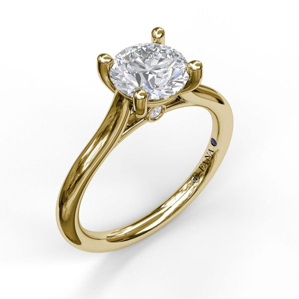 14K YG Ladies 0.03ct TW