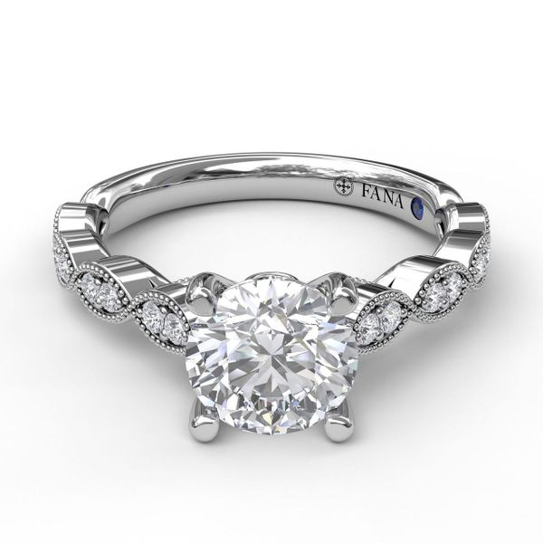 Next Generation Marquise Pattern Engagement Ring Skaneateles Jewelry Skaneateles, NY