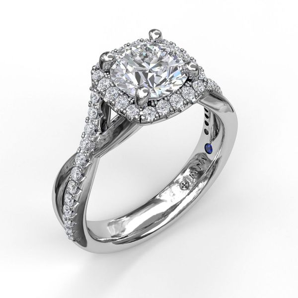 14K WG Ladies 0.37ct TW