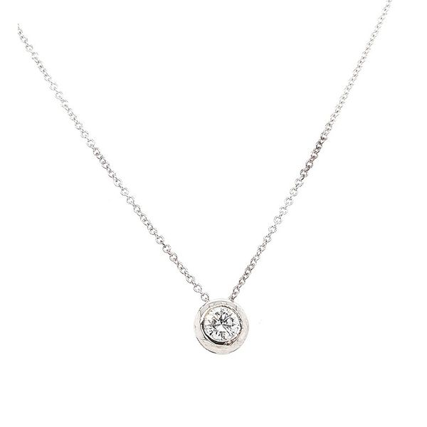 Next Generation Diamond Bezel Pendant Skaneateles Jewelry Skaneateles, NY