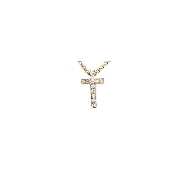 Next Generation Diamond Cross Pendant Skaneateles Jewelry Skaneateles, NY