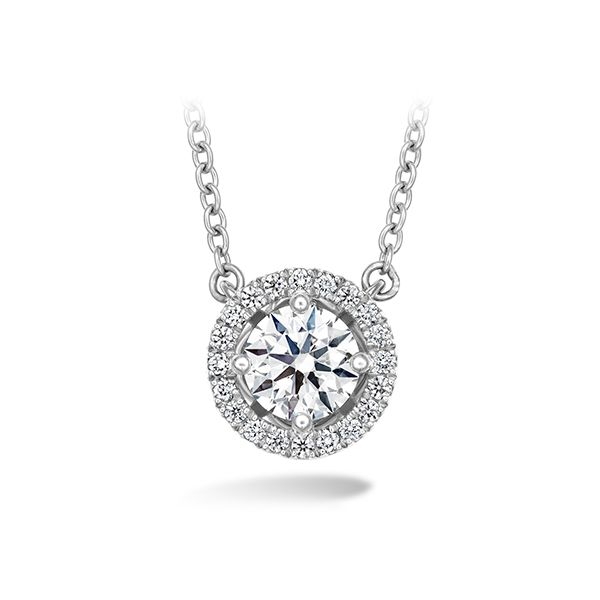 18K WG Ladies 0.15ct TW Hearts on Fire