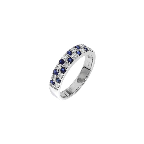 14K WG Ladies 0.83ct TW