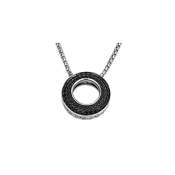 Charles Krypell Black Sapphire with chain Skaneateles Jewelry Skaneateles, NY