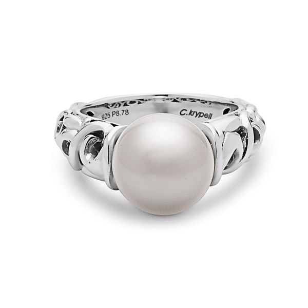 SS Ladies Charles Krypell 10.5-11 mm Pearl Fashion Ring (FW) Skaneateles Jewelry Skaneateles, NY