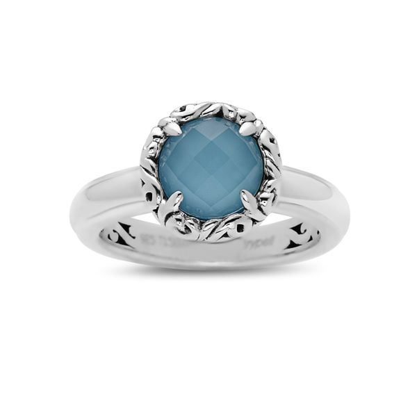 SS  Ladies Charles Krypell 8 mm Turquoise Ring Skaneateles Jewelry Skaneateles, NY