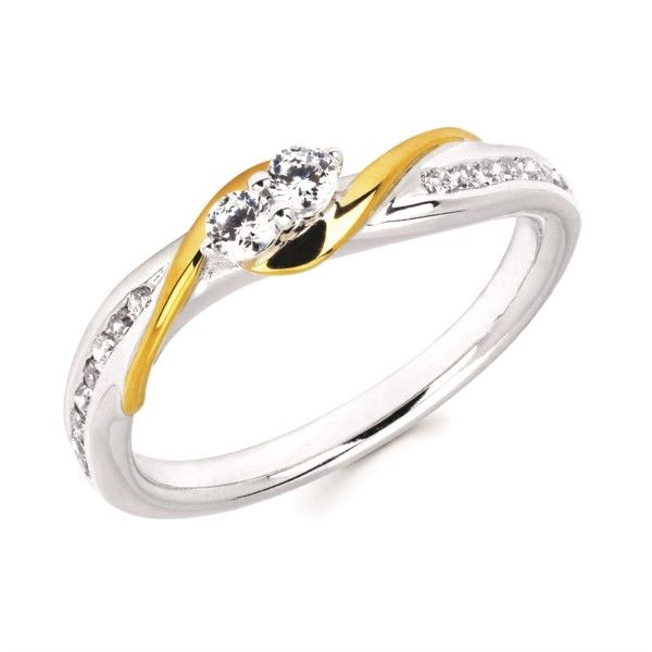 14K Two Tone Gold 2 Of Us Ring Confer's Jewelers Bellefonte, PA